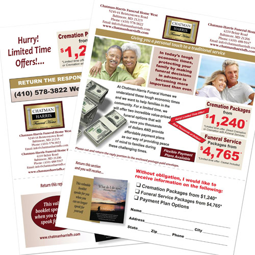 Funeral/Cremation Discount Tri-fold