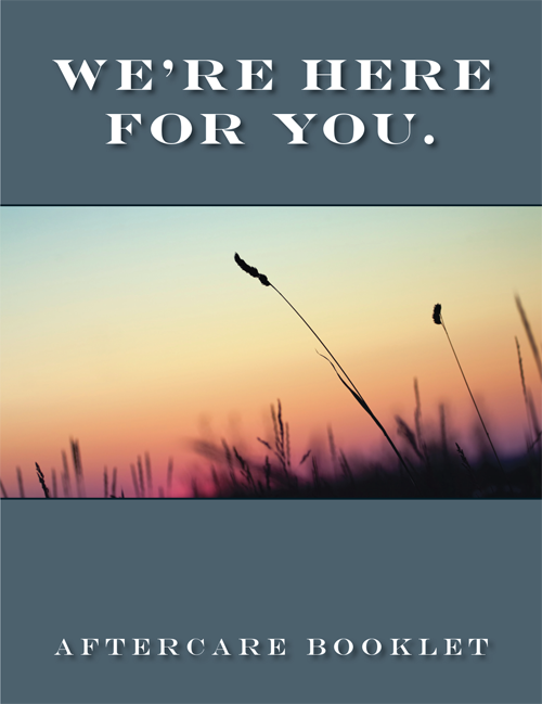 Aftercare Booklet (Grass)