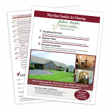 Why Families Choose Our Funeral Home Survey