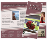 Grief Brochure - Losing a Spouse (Flowers)