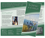 Grief Brochure - Losing a Child (Handprint)