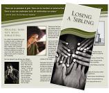 Grief Brochure - Losing a Sibling (Tribute)